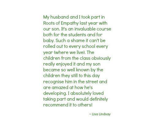 testimonial Lisa Lindsay