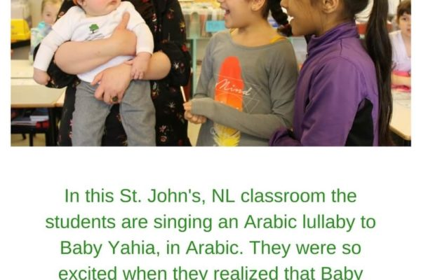 singing in Arabic