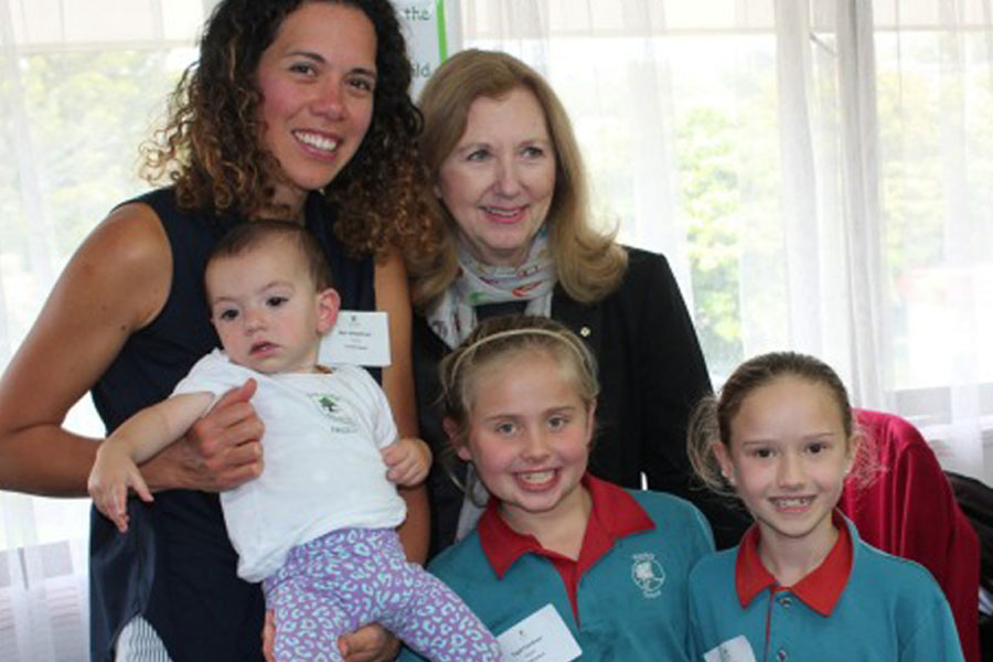 Baby teaches pupils empathy during in-school programme on Auckland's North Shore