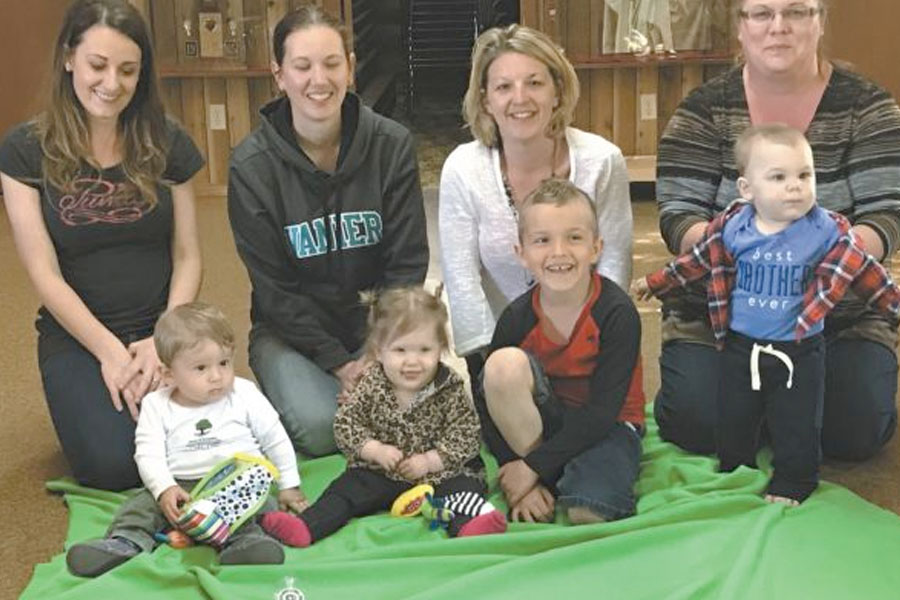 FCSS holds Roots of Empathy celebration at Log Cabin May 24