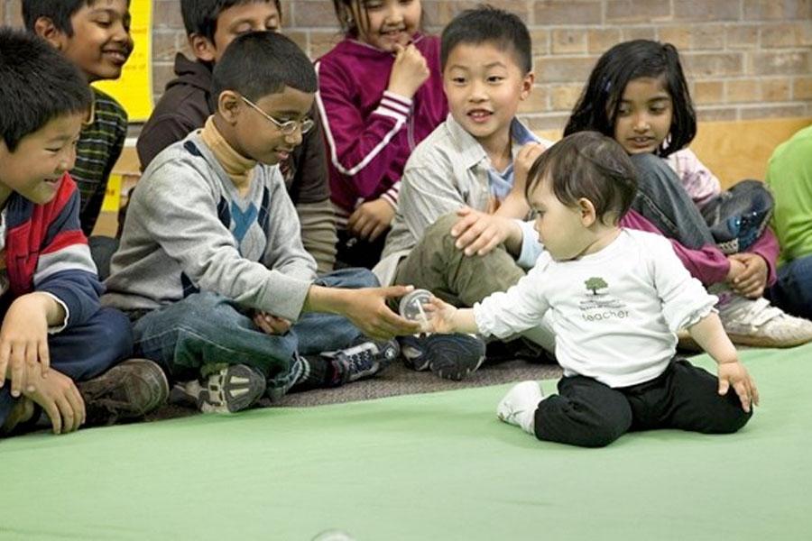 Hundreds of Toronto babies visit classrooms to teach children empathy