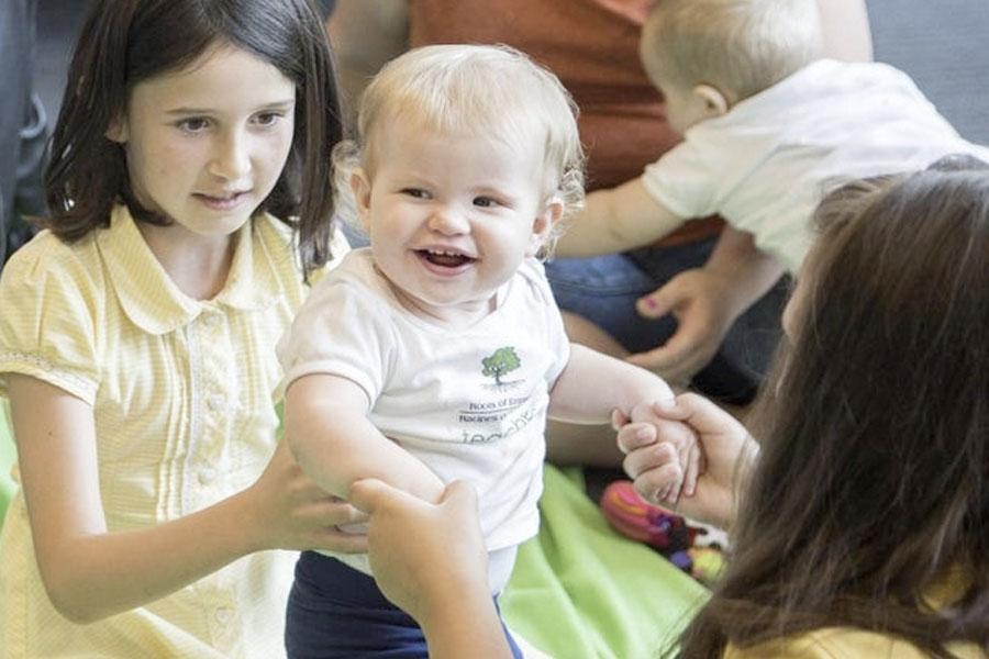 Teacher babies honoured for helping Northampton primary school pupils learn empathy