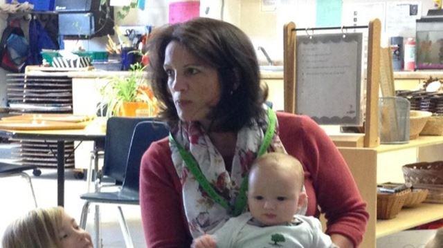 """Babies serve as """"tiny teachers"""""""